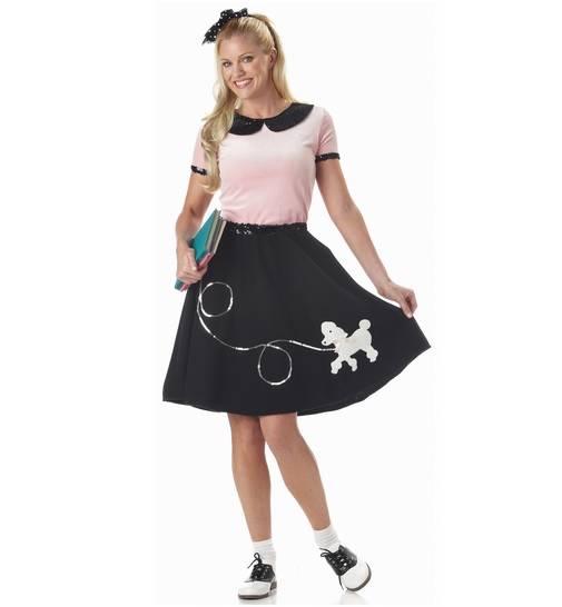 Beautiful Women39s 195039s Poodle Skirt Costume  Classic Women39s 5039s Co