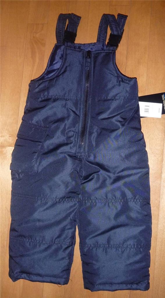 Toddler Girls LONDON FOG SNOW BIBS PANTS Ski pants Size 2T ...