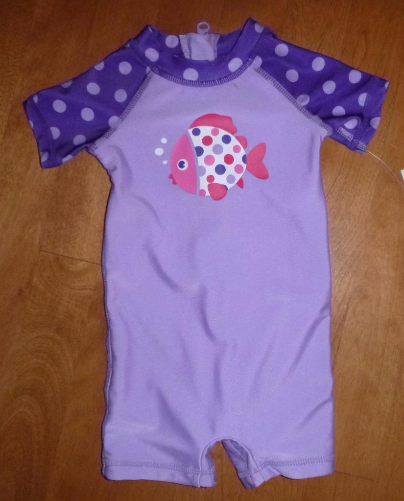 Periwinkle Blue Seersucker One Piece Rash Guard Made with a high quality UPF 50+ sun protected fabric, this one piece bathing suit is sure to keep her skin safe on a day full of play in the sand and sun.5/5().