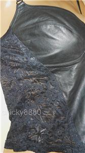 HARLEY DAVIDSON Leather & Lace Cami Tank Top S