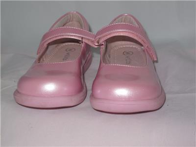 Willits Girls Toddlers Pink Mary Jane Dress Shoes