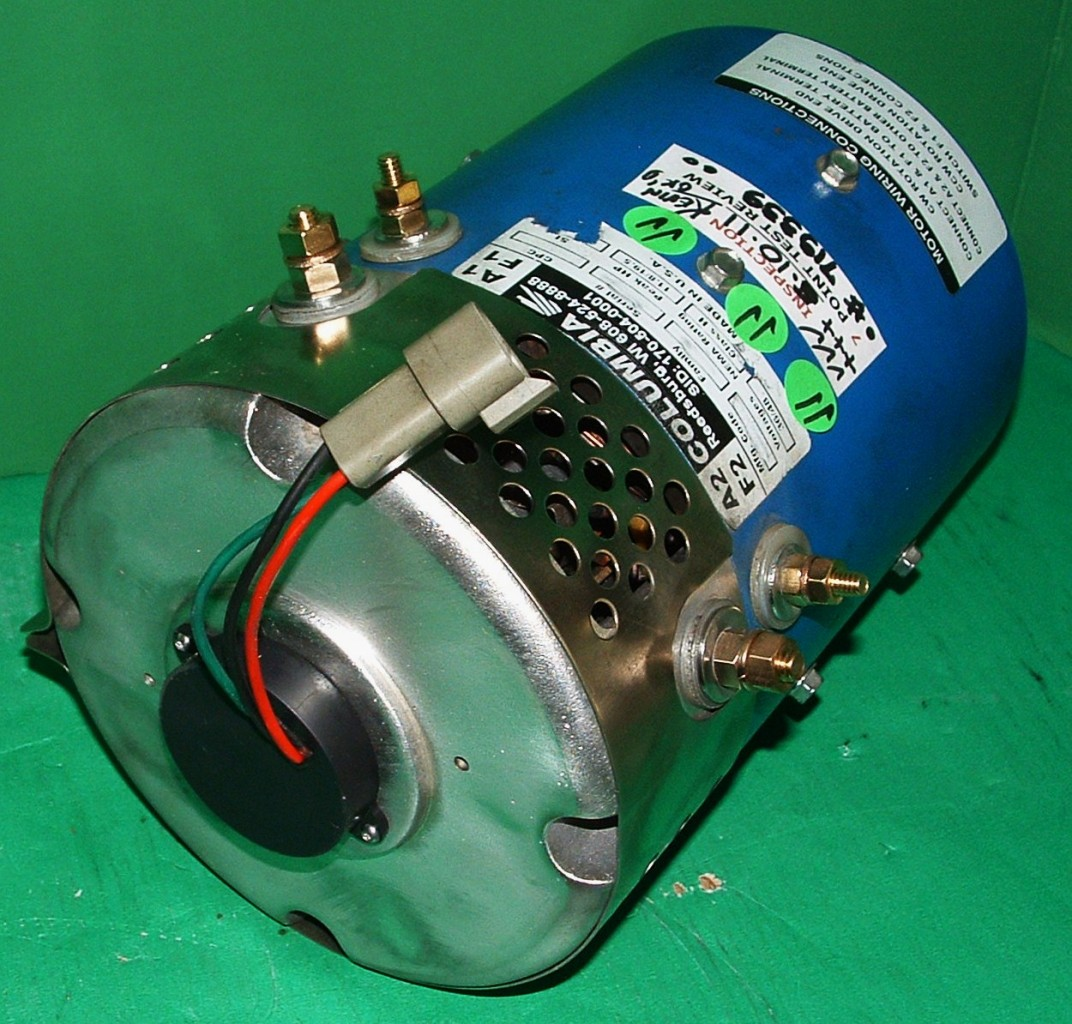 36 48 Volt Golf Cart Motor Yamaha Ezgo Par Car Hp 19 5
