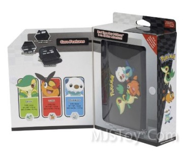 nib nintendo pokemon character case snivy tepig oshawott protect dsi ds lite 3ds ebay. Black Bedroom Furniture Sets. Home Design Ideas