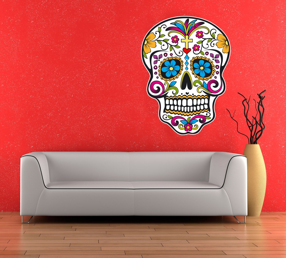 Day Of The Dead Wall Art On Gallery Wrapped Canvas R34e68772646a41d5b37ba40a1c0e7125 Axeev 8byvr 512