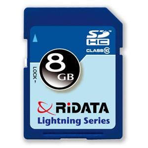 ridata-lightning-series-8gb-secure-digital-high-capacity-flash-memory