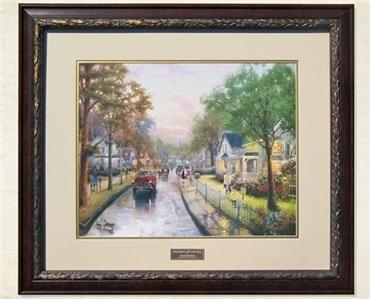 Thomas kinkade 50th anniversary home interiors limited - Home interiors thomas kinkade prints ...