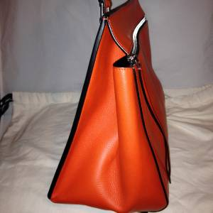 Celine Edge Medium Leather Tote Shopping Hand Shoulder Bag Shopper ...