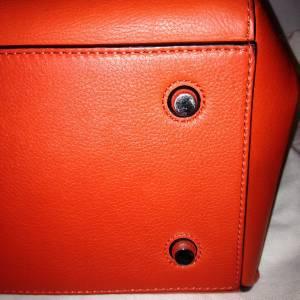 Celine Edge Medium Leather Tote Shopping Hand Shoulder Bag Shopper ...