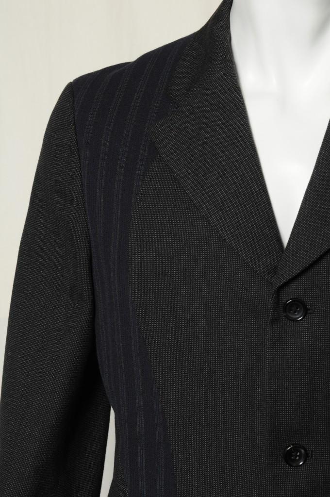 COMME DES GARCONS Homme Plus Mixed Pattern Mens 3 Button Coat Blazer