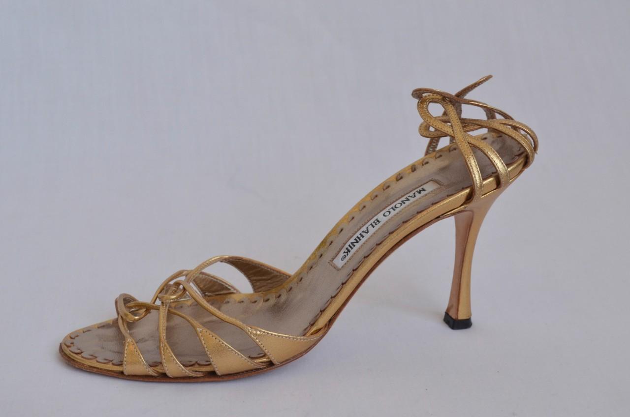 manolo blahnik strappy sandal