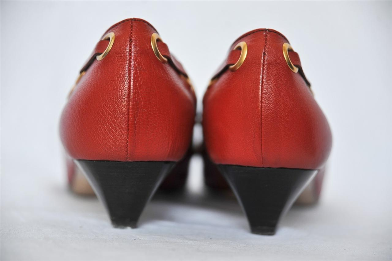 designer heels with red soles  red material: leather