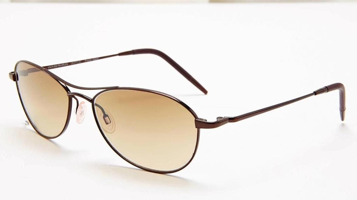 designer aviator glasses  designer: oliver peoples