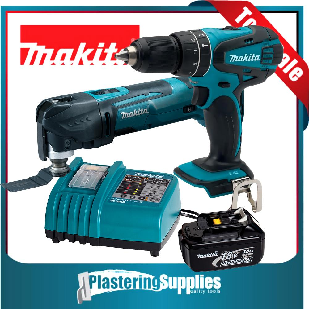 makita cordless xmt03z multitool lxph01 drill bl1830 dc18ra battery charger ebay. Black Bedroom Furniture Sets. Home Design Ideas