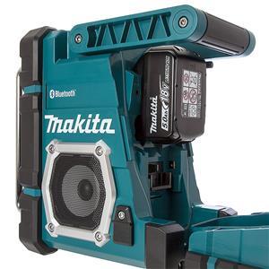 makita dmr108 18v lxt li ion cordless bluetooth jobsite radio. Black Bedroom Furniture Sets. Home Design Ideas