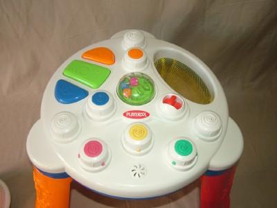 PLAYSKOOL BABY AIR-TIVITY STACKER & ACTIVITY TABLE TOY | eBay