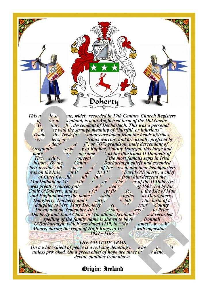 coat of arms research paper Students research family coat of arms in connection to king arthur selections le morte d'arthur and sir gawain and the green knight connections are also made to battle of hastings, chivalric code of honor.