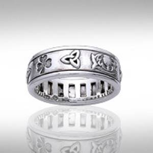 Celtic Knot Spinner Ring Meaning