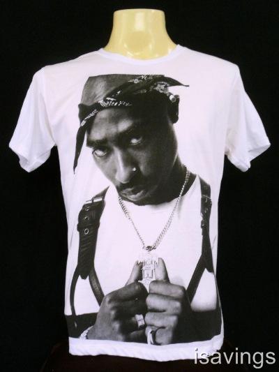 2pac tupac shakur t shirt rap hip hop legend cotton s m. Black Bedroom Furniture Sets. Home Design Ideas