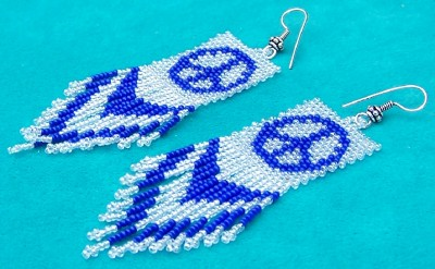 Bead Earrings | Native American beaded Earrings | SilverTribe