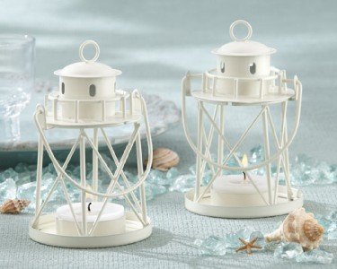 12 Light House Beach Theme Metal Lanterns Wedding Outdoor