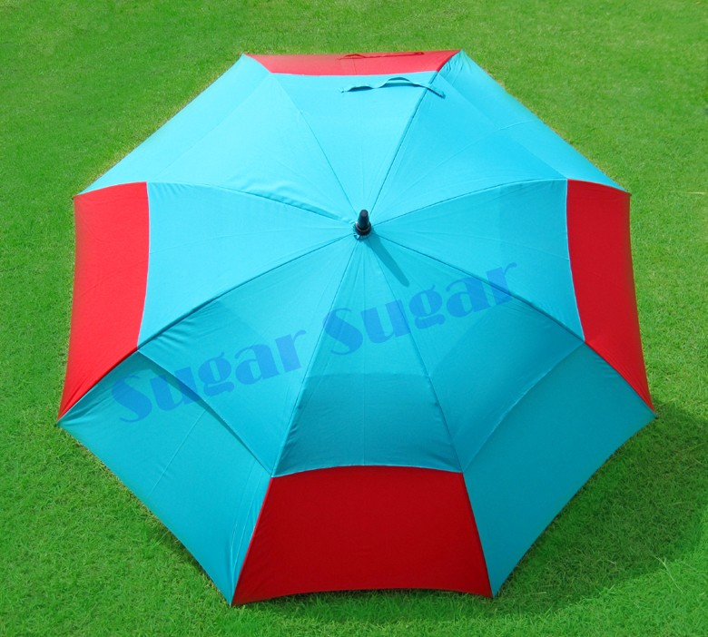 New-130cm-Double-Canopy-Durable-Large-Golf-Umbrella