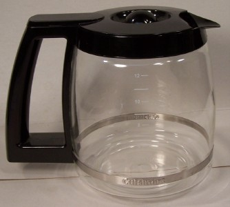 Cuisinart Coffee Maker Replacement Pots : Cuisinart Replacement Coffee Pot 12 Cup Lightly Used eBay