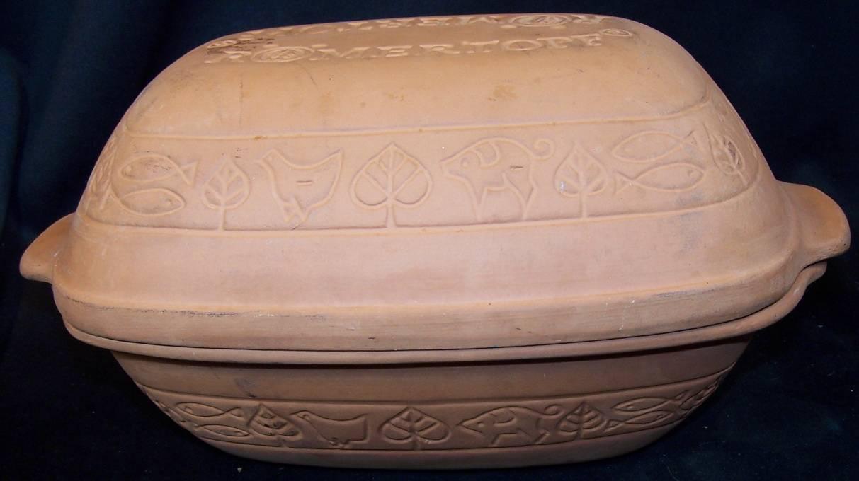 Romertopf Bay Germany Piece Clay Baking Pot