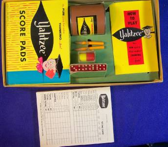 original yahtzee game value