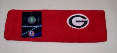 Georgia Bulldogs Red Fleece Headband NWT