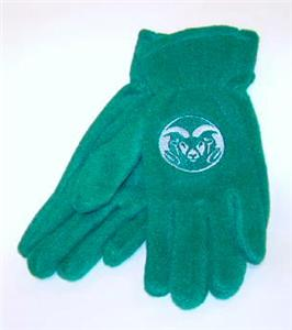 Colorado State Rams Ladies Lightweight Fleece Gloves