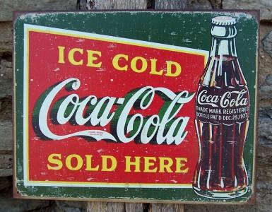Vassoio coca cola vintage