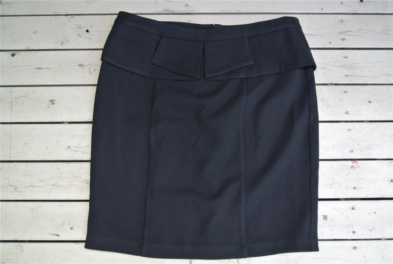 TARGET-City-Dressing-Quality-Black-SKIRT-Size-18-Pleat-Waist-NEW-RRP-59-Lined