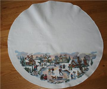 Buy Christmas Tree Skirts Cross Stitch Kits On EBay Find Great Deals Patterns And Get What You Want Now