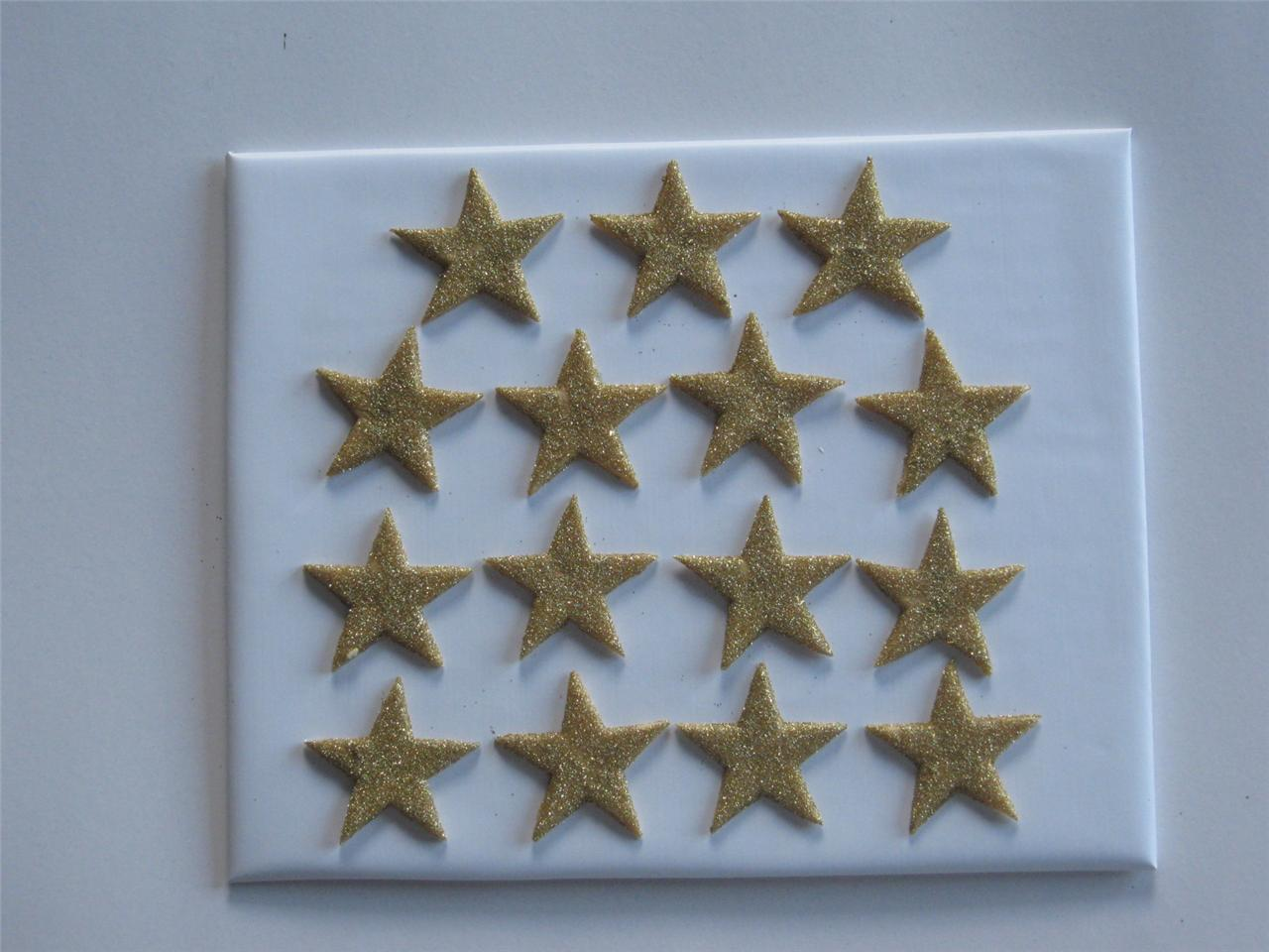 Edible Cake Decorations Stars : 15xEDIBLE GLITTER STARS. CAKE DECORATIONS - VARIOUS ...