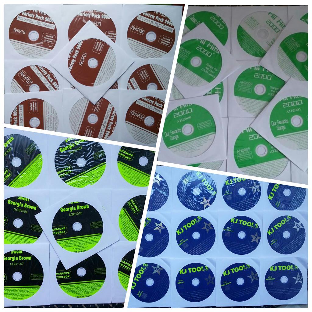 48 CDG DISCS KARAOKE LOT CD+G SONGS 700+ SONGS STANDARDS,ROCK,OLDIES,POP,COUNTRY