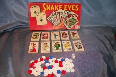 snake eyes board game