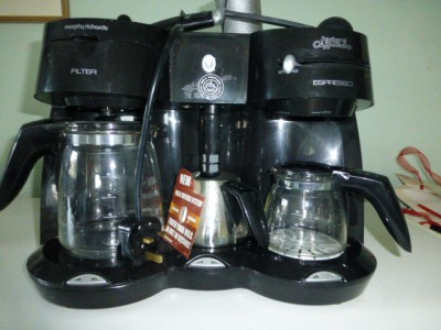 MISTER CAPPUCCINO MORPHY RICHARDS COFFEE MAKER EXPRESSO AND FILTER MACHINE eBay