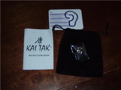 Разное New Kai Tak Magnetic Acupressure Weight Loss Slim Diet 1 Pc Earring. Gold. $69 в интернет магазине Ru-ebay.com