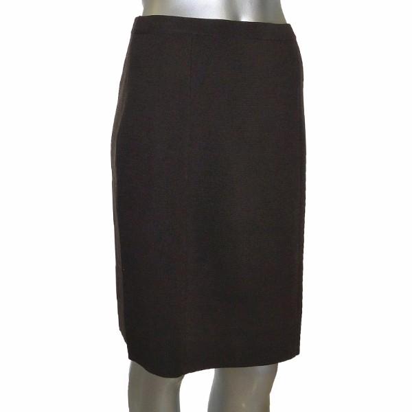 sutton studio womens stretch brown pencil skirt ebay