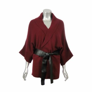 Sutton Studio Women Wool Sweater Kimono Cardigan Topper