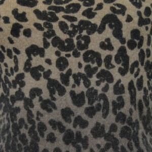 Sutton Studio Womens Cashmere Leopard Shell Tank PM