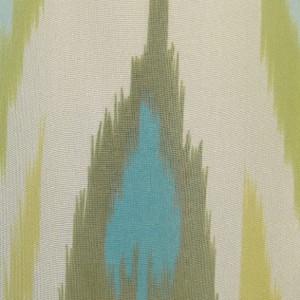 Sutton Studio Womens Blue/Green Wavy Chiffon Tab Sleeve Tunic Blouse