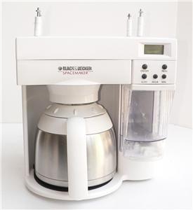 Black amp decker spacemaker coffee maker 10 c program - Space saving coffee maker ...