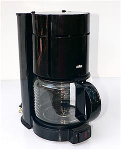 Braun Coffee Maker New : Braun Aromaster BLACK Type 4085 KF 400 10 Cup Coffee Maker eBay