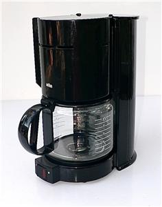 Braun Coffee Maker Directions : Braun Aromaster Black Type 4085 KF 400 10 Cup Coffee Maker eBay