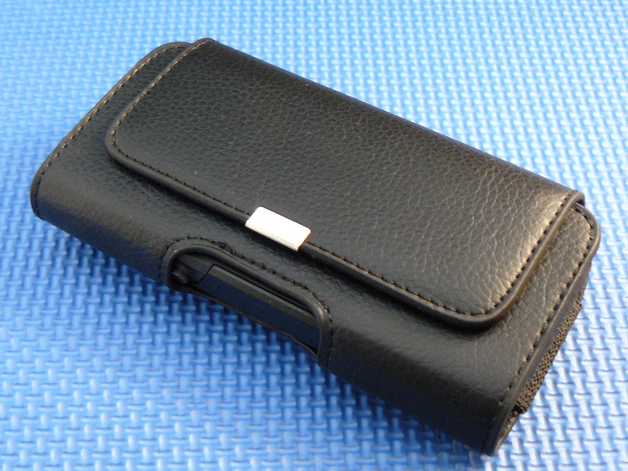 classic leather belt clip holster pouch for iphone 5