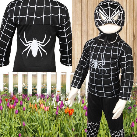 kinderkost m spiderman kost m kinder halloween partei. Black Bedroom Furniture Sets. Home Design Ideas