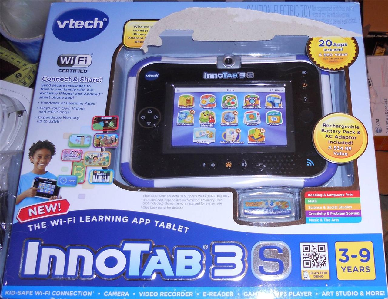 VTech has great electronic learning toys and learning tablets, which include the VTech InnoTab Max, VTech InnoTab 3 Plus Learning App Tablet and the VTech InnoTab 3S Plus Wi-Fi- Learning Tablet; VTech MobiGo 2 Touch Learning System, which is a handheld game system; VTech Kidizoom Smartwatch lets young photographers take photos and videos.