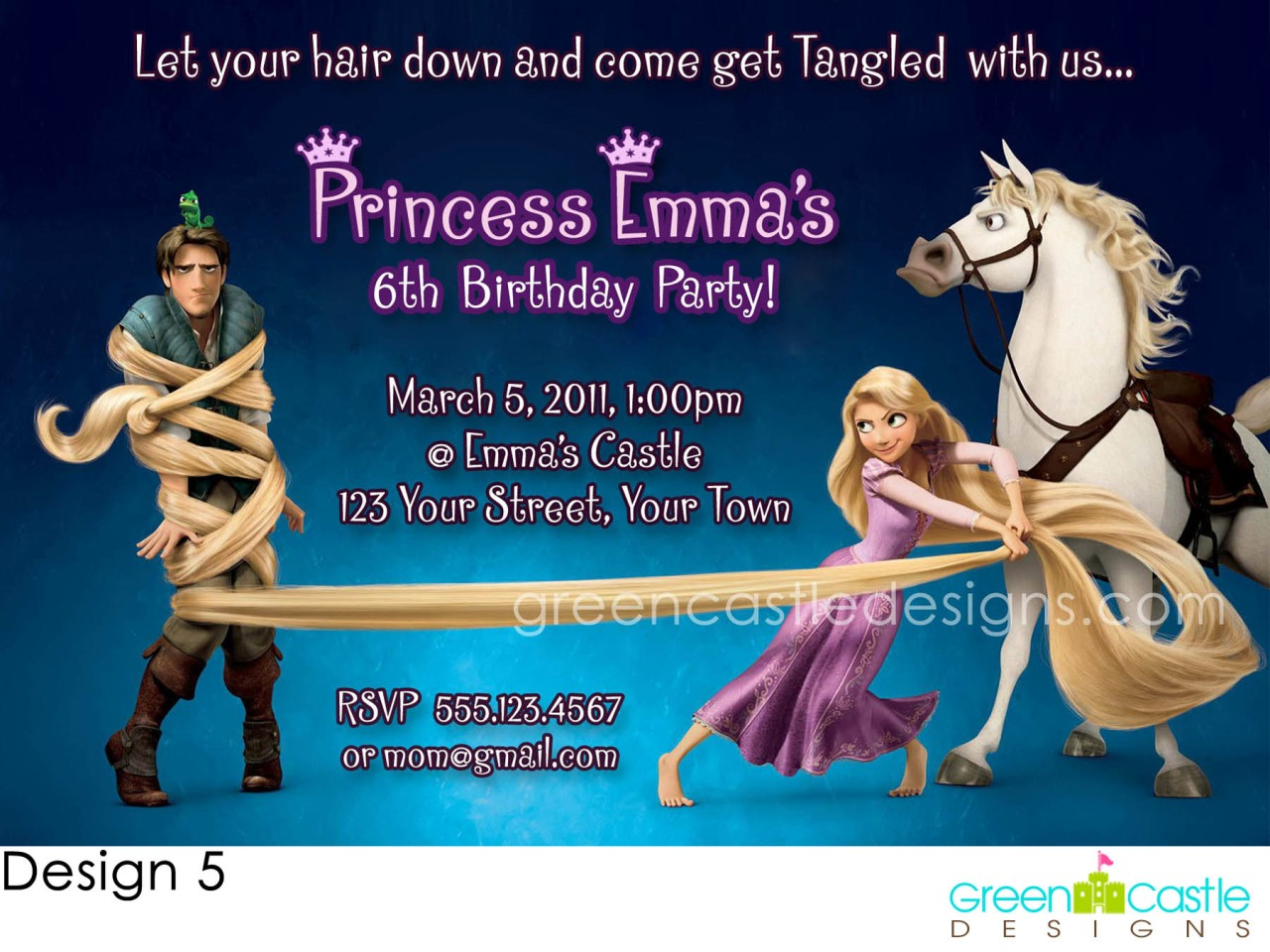 Tangled Templates http://www.ebay.com/itm/Tangled-Invitations-Birthday-Party-Rapunzel-Custom-Invite-Printable-/290619466100