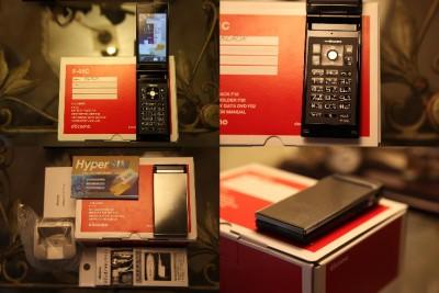 NTT DoCoMo Fujitsu F 01C F01C Black Bonus Genuine Pack